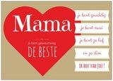 Wenskaart Mama_
