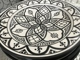 Schaal/bord aardewerk 25cm_