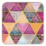 Mandala  onderzetters patchwork set van 6 _