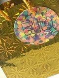 Geschenktasje goud Eid Mubarak _