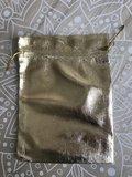 Geschenkzakjes metalic goud 15x12cm (10 zakjes)_