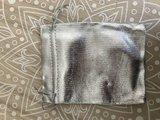 Geschenkzakjes metalic zilver 12x9cm (10 zakjes)_