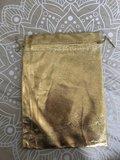 Geschenkzakjes metalic goud 20x14cm (10 zakjes)_