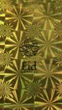 Geschenktasje goud Eid Mubarak kalligrafie_
