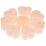 Hartvormige geurkaarsjes stearine -Jasmijn (8 kaarsjes)_