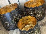 Kaarshouder India bruin/goud large_