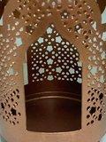 Kaarshouder India portalen brons_