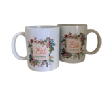 """Koffie/theemok  """"Eid Mubarak"""" flowers gevuld met 5 Raffaelo's_"""