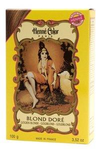 Henné Color Goudblond / Blond Doré poeder