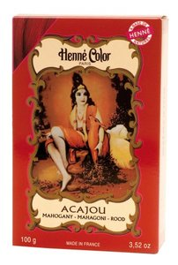 Henné Color Rood / Acajou poeder