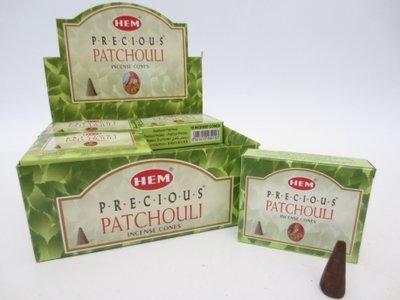 HEM wierookkegels Precious Patchouli