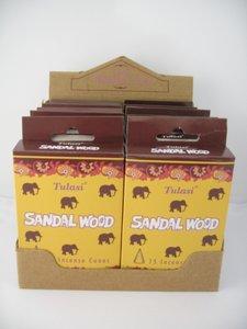 TULASI wierookkegels Sandalwood