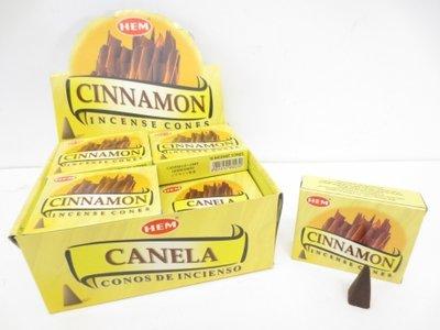 HEM wierookkegels Cinnamon