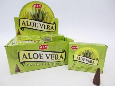 HEM wierookkegels Aloe Vera