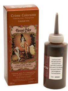 Henné Color Goudbruin / Chatain Doré crèmekleuring