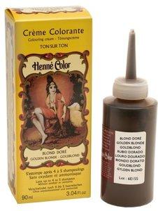 Henné Color Goudblond / Blond Doré crèmekleuring
