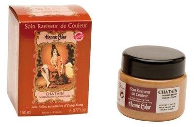 Henné Color Goudbruin / Chatain masker