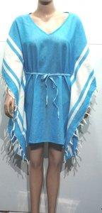 Fouta kleedje blauw