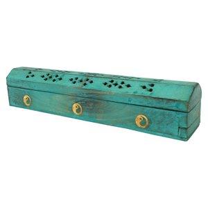 Wierookdoos ylang ylang turquoise