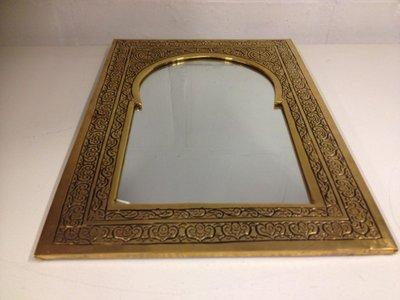 Koperen spiegel Marokko