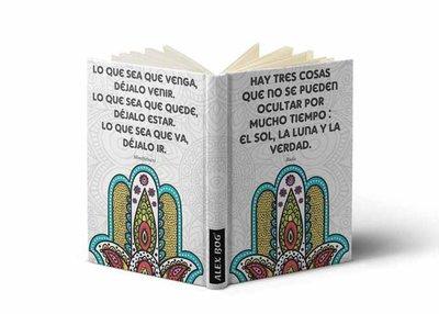 Hand van Fatima notitieboekje