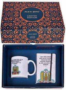 Hand van Fatima geschenkset (mok en notitieboekje)