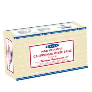 Satya Californian White Sage wierookstokjes 15gr