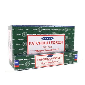 Satya Patchouli Forest wierookstokjes 15gr