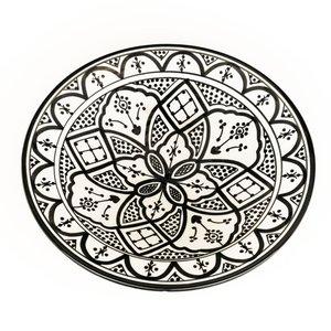 Schaal/bord aardewerk 25cm
