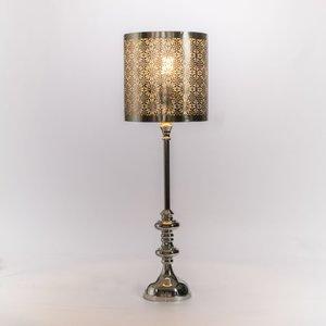 Staanlamp Oriental silver