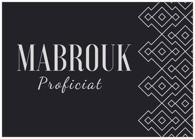 Wenskaart Mabrouk
