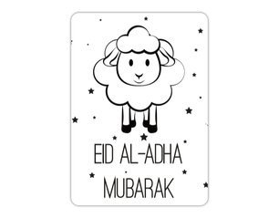 Wenskaart Eid Al-Adha Mubarak