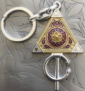 Sleutelhanger Berbersymbool