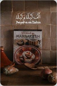 Boek De smaak van Marrakesh