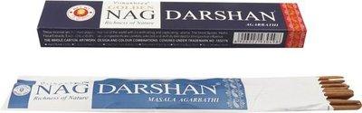 Golden Nag Darshan wierook 15gr