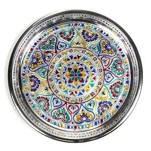 Kleurrijke Indiase schaal