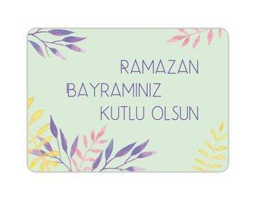 Wenskaart Ramazan Bayraminiz Kutlu Olsun