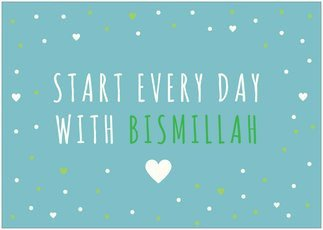 Poster Bismillah
