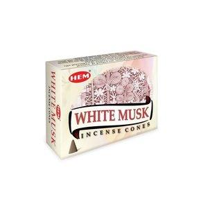HEM wierookkegels White Musk