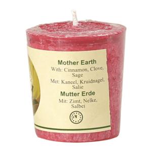 Geurkaarsje Mother Earth