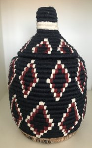 Berber mand medium blauw naturel bordeaux