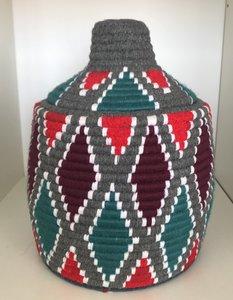 Berber mand  grijs multicolor