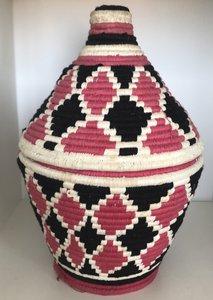Berber mand  naturel rose zwart