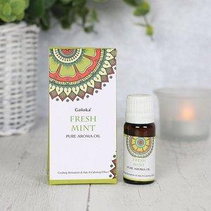 Goloka geurolie Fresh Mint 10 ml