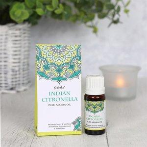 Goloka geurolie Indian Citronella 10ml