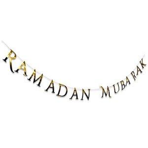Letterslinger Ramadan Mubarak Goud