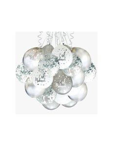 Eid ballonnen Silver (10 stuks)