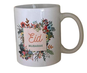 "Koffie/theemok  ""Eid Mubarak"" flowers"